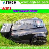 Wifi App Robot Lawn Mover/Robot grass cutter Which can be controlled by your smartphone JT-RLMW01