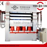 hot press machine for pressing the thin skin on the wood board/mould door skin hot press