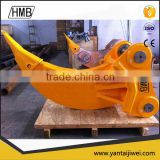 excavator attachment ripper bucket for sale made in China