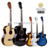 39 inch Caravan music Chinese acoustic guitar with cheap price for beginners HS3910