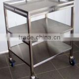 stainless steel Medical instruments trolley