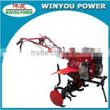 China WY1100 Engine Gasoline and Diesel Power Tiller/Mini Walking Tractor/Ditcher For Sale