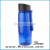 Camping&Hiking Bottle BPA free water purified bottle with UF membrane and activated carbon filter