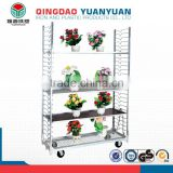 Top quality flower shelf, light duty shelving racking, corner flower rack