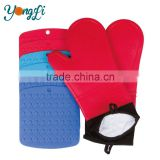 Wholesale Heat Resistant Cooking Silicone Oven Mitts And Pot Holder