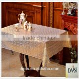 PVC Lace newest design Tablecloth in rolls137cm width for Egypt &Pakistan market Dongguan manufacturer