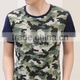 latest design bamboo cotton haigh quality camouflage t-shirts for men,classical elegant men's t-shirts