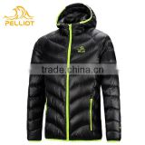 Waterproof Warm Winter Men 750 Filling Power White Goose Down Jacket