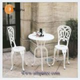 Luxury furniture metallic garden furniture
