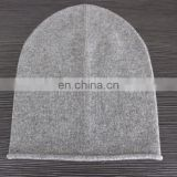 factory manufacturer luxury fashion 100%cashmere beanie hats