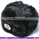 Russian Hat Artificial Wool Hot Warm Winter Dress with Logo Folk Art and Crafts Wholesale, Belarus