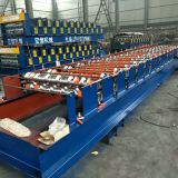 High Standard Hot Selling  Galvanized Trapezoidal Roof Sheet Roll forming machine