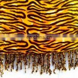 TIGER Print Viscose stole & scarf