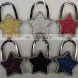 Shining Star Crystal Metal Purse Holder