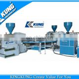 2014 Hot selling 3 color PVC sole making machine