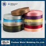 manufacturer multicolor custom recycled polyester webbing