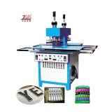 New woven silicone label embossing machine