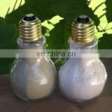 light bulb clear glass salt and pepper shaker, light bulb glass container, glass jar for spices