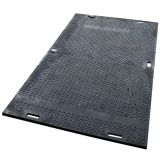 wear resisting UHMWPE construction road mat high strength ground protection mat