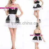 SEXY ADULT Halloween MAID Black Skirt Lolita Anime Dress costumes cosplay OUTFIT