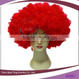 cheap red vast afro party synthetic wigs made in china                                                                         Quality Choice