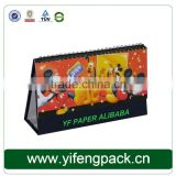 2015 custom table calendar printing in China/table calendar printing service