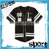 good price blank dri fit baseball tee shirts jersey pattern with custom design wholesale