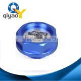 Blue Mugen Car Engine Oil Fuel Filler Filter Tank Cap Cover Plug for Honda