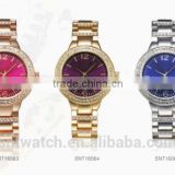 lady watch gift set women japan movt quartz watch stainless steel back crystal stone luxury