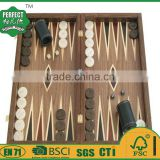 customized wooden backgammon set for board game