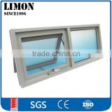 Windows And Doors Manufacturer Thermal Break Double Glazed Aluminum Awning Window