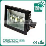 Shenzhen supplier 150W led flood light for outdoor light with lens 90 degree viewing angle from China