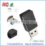 Laptop USB 3.0 Male to USB 3.1 Type C Female Data Converter OTG Funtion Adapter