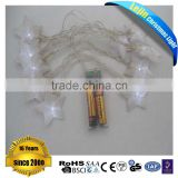 hot sale CE GS SAA RoHS colorful battery led tree light with mesh star lightt for indoor decoration