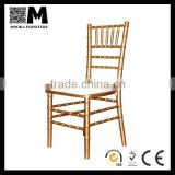 wooden frame furniture living room chair gold wood chiavari chair