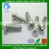 galvanized knurled socket cylinder head bolt