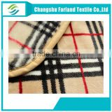 polyester flannel fleece blanket fabric for home textile
