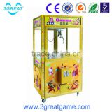 High quality coin operated make claw machine