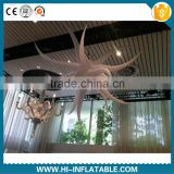 Newest home decoration materials inflatable star with luminous led lights for event decoration