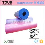 washable foam rubber eco friendly exercise mats for sports softextile folding yoga mat manufacturer OEM