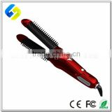 Hot selling professional LCD automatic anti-scald curls hair straightener mini