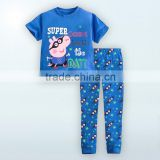China factory baby pajamas /fashion long sleeve 100% cotton 220 GRS interlock romper suit baby
