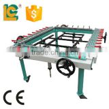 cheap pneumatic silk screen mesh stretching machine for sale TM-1200L
