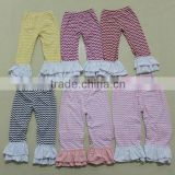 wholesale petti cotton ruffle pants with ruffle for children