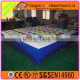 Interactive game for kids adult inflatable twister game