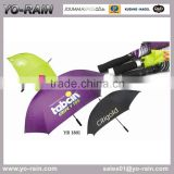 The Cost Of A Subway Custom Logo Straight Golf Sun Umbrella Outdoor