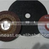 China high quality sharp abrasive thin 4'' aluminum cutting disc for metal/inox/steel/iron