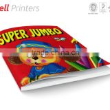Jumbo colouring book for kids perfect bound from India
