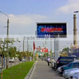 outdoor electronic advertising led display screen p20 outdoor transparent glassy led video screen