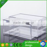 Custom Made Acrylic Shoe Drawer Slide Box                                                                         Quality Choice